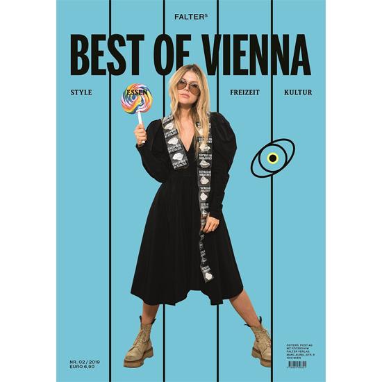 Falters Best of Vienna 02/2019 Titel Stolzes